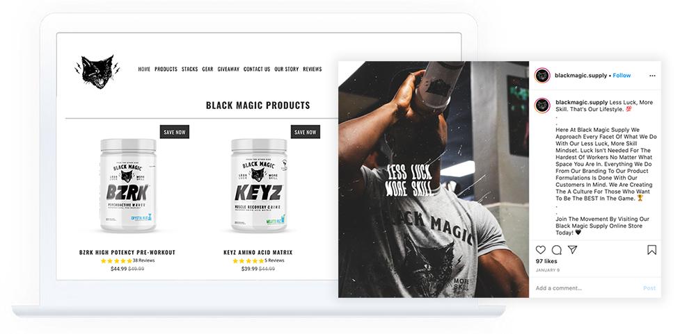 Black magic-website