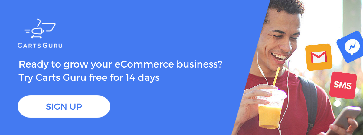 Grow your ecommerce business CTA