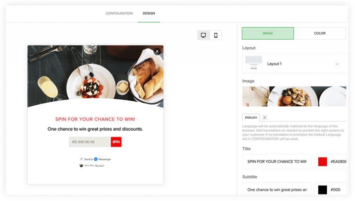 widget personalization