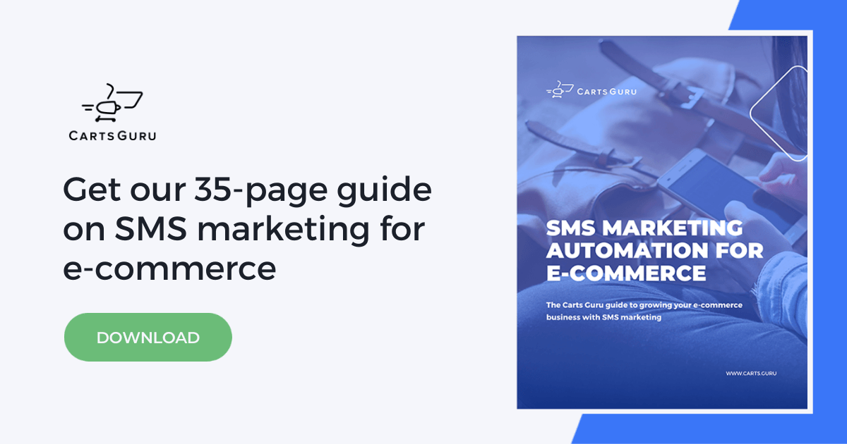 SMS marketing guide for e-commerce
