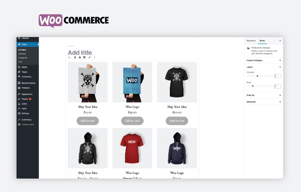 WooCommerce E-shop